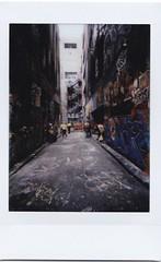 Graffiti (starsandwander) Tags: fujifilminstax lomography lomotion lomographyinstant polaroid polaroidweek roidweek polaroidweek2016