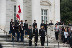 Canadian Army Commander Wreath Laying Ceremony September 27, 2016 (3d U.S. Infantry Regiment (The Old Guard)) Tags: wreath laying ceremony tomb unknown soldier 3d us infantry regiment the old guard canada