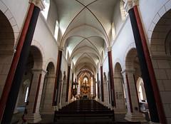 Interior of Goslar Market Church (Lawrence OP) Tags: goslar germany lowersaxony unesco worldheritage medieval romanesque