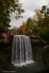 Colours at Morning Star Mills (awaketoadream) Tags: autumn trees october morning color water colour fall mill niagara waterfall falls exposure star vertical quick thorold escarpment decew
