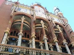 Palau de la Musica Catalana EXPLORED! (Shahrazad26) Tags: llusdomnechimontaner barcelona palaudelamusicacatalana catalunya spanje spain spanien espagna espagne architectuur architecture modernismo