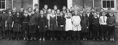 The group (theirhistory) Tags: children boys girls kids coat jacket dress shirt tie boots wellies jumper class form school pupils students education