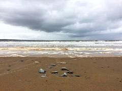 Sand and foam (Sana Tawileh) Tags: ireland clare spanishpoint