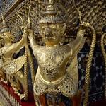 Row of Decorative Figures at Wat Phra Kaew - Bangkok thumbnail