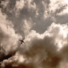 plane (Darek Drapala) Tags: plane panasonic poland polska panasonicg5 clouds sky skyskape high nature lumix light