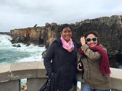 Boca do Inferno (francesbean) Tags: lisboa lisbon portugal europe travel 2016 travel2016 cabo da roca cabodaroca cape iphone iphonephoto iphone6 abie tina