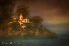 Yerba Buena Lighthouse (Laura Macky) Tags: bayarea coastguard estuary landsea landscape lighthouse oakland portofoakland sanfrancisco seascape yerbabuena