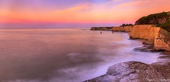 A New Day! (deepaksviewfinder) Tags: ifttt 500px davenport beach santa cruz bluff sunrise vibrant sky smooth water long exposure nd filter california pch 1 pacific coast ocean morning