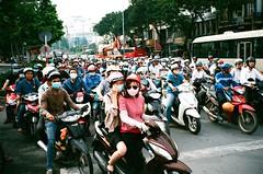 Saigon / Ho Chi Minh City (Yuwei*) Tags: saigon vietnam streetsnap contaxt2 kodakektar100