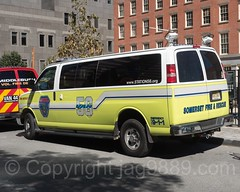 Somerset NJ Fire and Rescue Van, Lower Manhattan, New York City (jag9889) Tags: jag9889 usa yellow 20160925 lowermanhattan transportation manhattan newyorkcity car newyork outdoor 2016 van somerset firedepartment auto automobile ny nyc unitedstates unitedstatesofamerica vehicle us