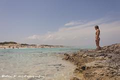 Sirenas (belen_bm) Tags: mar playa sea beach paisajes chica girl cielo sky azul blue formentera ibiza eiviza horizonte pensamientos melancolia felicidad