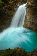 s e c l u s i o n  5035 (Philip Esterle) Tags: autumn fingolfinphoto philipesterle canyon landscapes naturephotography hdr canyons waterscapes johnstoncanyon geology landscapephotography alberta pentaxk1 waterfalls canada streams rocks scenic banffnationalpark banff ricohpentax canyonscapes ca