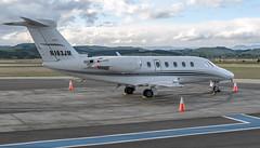 Cessna 650 Citation III (N163JM), Napier Airport, Hawkes Bay, NZ - 27/11/16 (Grumpy Eye) Tags: cessna 650 citation iii nikon d7000 nikkor 24mm 14 napier hawkes bay airport