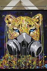 Marko 93_5140 Home Staging - rue du Dragon Paris 06 (meuh1246) Tags: streetart paris marko9 homestaging ruedudragon paris06 animaux panthre masquegaz