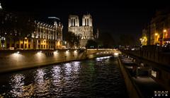 Cathdrale Notre-Dame de Paris (SM-A-MS) Tags: paris cathdralenotredame nuit siene