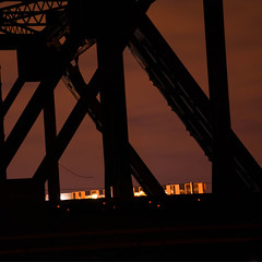 stoale_p4_s2 (samanthatoalephotography) Tags: weather industrial night nightsky clouds stars bridge