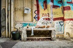A private dancer (pietschy.de) Tags: streetart telaviv israel trash shoes dancer bench postbox beer ballets plants street graffiti goldstar stefaniepietschmann documentaryphotographer zerowaste letterbox mll schuhe tnzer bank bier ballett pflanzen strase abfall dokumentarfotograf briefkasten