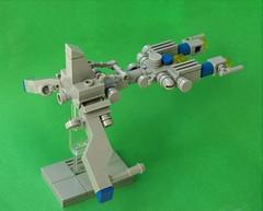 NCS cruiser - micro (adde51) Tags: adde51 lego moc vicviper microscale micro classic space spaceship classicspace nnovvember novvember