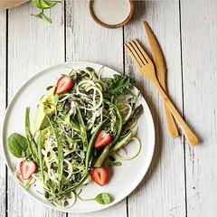 Zucchini, bean and asparagus slaw with creamy tahini dressing  Via @wholesomedaily  #vegan #wellness #food #raw #veggies #fruits  #greens #asparagus #beautiful #foodporn #salad #lunch #foodart #fit #zucchini #yummy #detox #eatclean #healthy #instafood  #n (wehealthy) Tags: beautiful veggies salad foodart raw followforfollow nature eatclean healthy greens foodporn fit goals nutrition asparagus likeforlike lunch fitness fruits detox zucchini wellness vegan breakfast food salads instafood yummy