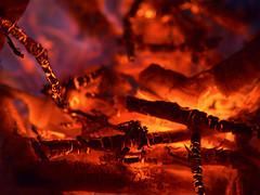 Bonfire Night (milfodd) Tags: november 2016 november5th bonfire fire embers