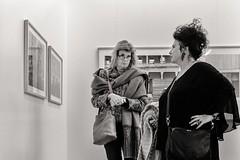 amazing isn't it? (Gerard Koopen) Tags: nederland netherlands breda bredaphoto bw blackandwhite museum photography photo amazing people woman women fujifilm fuji x100t 2016 gerardkoopen