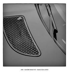 SLK280 Detail #2 (Godfrey DiGiorgi) Tags: colorskopar50mmf25 abstract automobile bw car detail shape slk280 stilllife santaclara california usa us