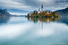 Autumn colours at Lake Bled (Ian Middleton: Photography) Tags: bled lake slovenia church island autumn colours colors tower bell history historic mountains alpine building christianity christian clouds stunning scenic travel architecture architectural religious attraction slavic slovene former beautiful popular water european scenery europe vacation holiday touristy yugoslavia slovenian gorenjska famous reflection shimmering tourist tourism