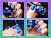Hot Topic - Blackheart Royally Screwed (Raíssa Assis) Tags: esmalte importado azul glitter nail nailpolish caveirinha hottopic vernis unhas