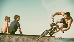 BMX Hero I (redstarpictures) Tags: spanien zarautz bmx bike cycle bicycle spain espania