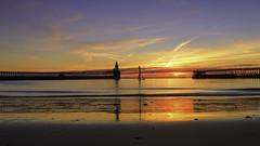 I Witness (Alan Dingwall) Tags: landscape seascape sea water sunrise pier jetty alan dingwall fuji hitech firecrest blyth northumberland ne
