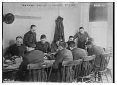 Teaching English to crippled soldiers (LOC) (The Library of Congress) Tags: libraryofcongress dc:identifier=httphdllocgovlocpnpggbain28294 xmlns:dc=httppurlorgdcelements11 amputee signalcorps 37165