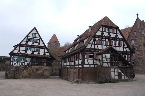 Part of Maulbronn Monastery, 06.04.2012.