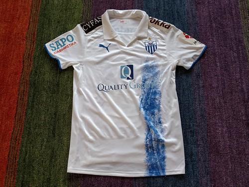 Anorthosis Famagusta FC match worn shirt 2008/09 Giorgos Theodotou