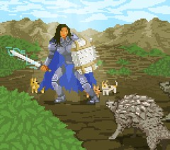 Haymara Palma - Production Artificer (iloveui) Tags: sorceress dragon priest minecraft ninja