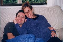 1998 Thanksgiving-31 (bencarob) Tags: 1998 extended family josh people stephanie x