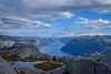 The Gap Widens (Ivan Dennis Photography) Tags: norway preikestolen fjord norge