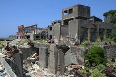 Buildings Gunkanjima Hashima
