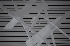 Crossing Lines Part 2: Hanging Mobile (yourewelcomephotography) Tags: usa abstract art lines modern mobiles blackwhite midwest explorer angles lookup explore views hanging create linescurves superfave phototsofart