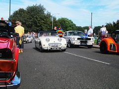 Austin Healey Sprite (Harry3099) Tags: show heritage classic cars sports modern vintage austin engine fast sprite super motor supercar healey sportscar sportscars supercars 2015 atherstone