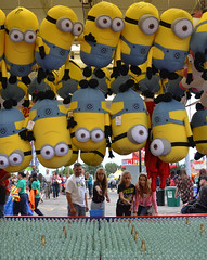 tossing for minions