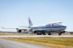 Air China Boeing 747-400 (duffohyeah) Tags: 747400 airchina g20 airchinaboeing747400