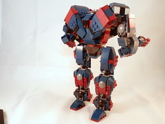 Scattershot (Canis Arms Corporation) Tags: lego mecha mech battletech moc battlemech