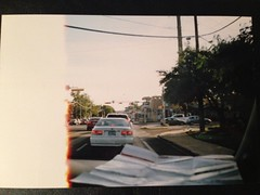 Untitled (junkface.nightlove) Tags: car canon honda fire canonaf35m