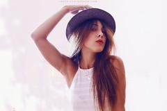 sunbath (@chicagiordano) Tags: blue summer portrait italy woman sun selfportrait girl beauty hat fashion backlight canon hair model fashionphotography creative indoor lips sunbath portraiture tuscany summertime selfportraiture summerlife