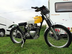 Triumph Tiger 400cc (BSMK1SV) Tags: club vintage durham south tiger beamish cycle triumph trophy motor section trial 2015 400cc vmcc