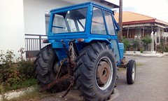 Old tractor,spotted at Elefthero B, Grevena
