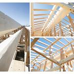 木造軸組構造の写真