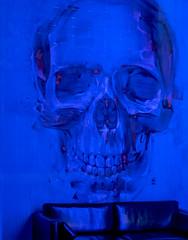 Gallery Display - Antwerp (Panasonic GM5 & mZuiko 45mm F1.8 Prime) (markdbaynham) Tags: street city blue urban colour lumix skull prime town gm belgium evil panasonic metropolis antwerp f18 zuiko 45mm antwerpen dmc anvers csc m43 mft mirrorless gm5 u43 micro43 microfourthirds lumixer micro43rd mzuiko m43rd u43rd digitaldepotcouk digitaldepotstevenage zuikolic