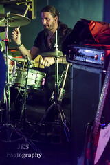 Curvature at the Face Bar Reading (jksphoto1) Tags: music monochrome metal photography reading mono photo concert nikon live gig tokina vocalist bassist drummer niko guitarist curvature keyboardist 1755 blackandwhitebw facebar symphonic 1755mm 1116 d7100