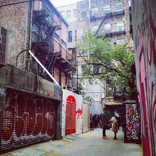 Freeman's alley today on our #riadarttour